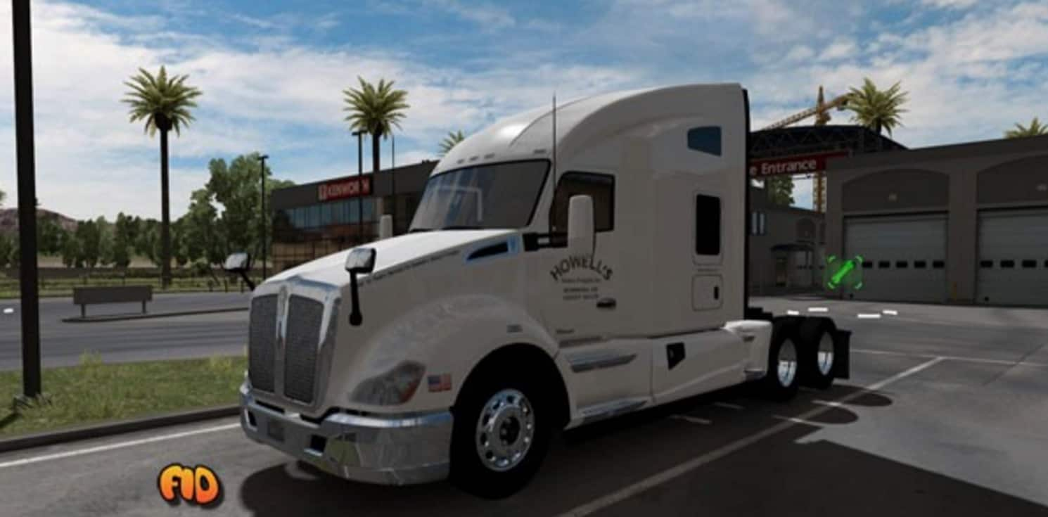 Howell S Motor Freight Inc Skin Mod American Truck