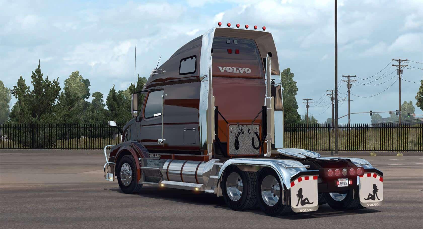 Volvo Vnl 670 For Ats Truck V1 4 1 By Aradeth American