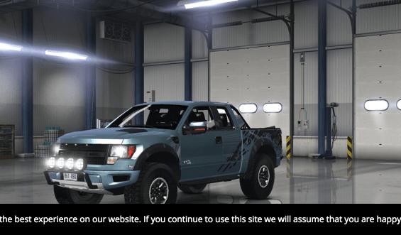 eee28a2a82 Ford F150 SVT Raptor v 1.5.1 Mod - American Truck Simulator mod ...