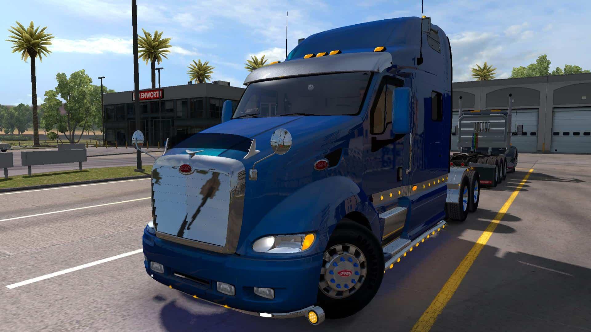 peterbilt 387 new sound v2 0 truck american truck simulator mod ats mod. Black Bedroom Furniture Sets. Home Design Ideas