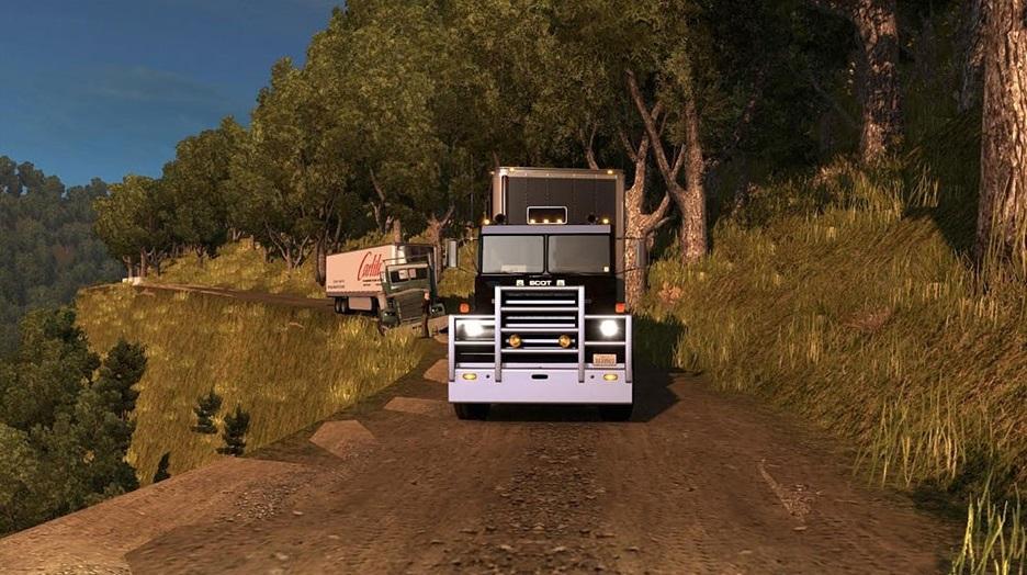 USA OFFROAD ALASKA MAP V14 for ATS American Truck Simulator mod