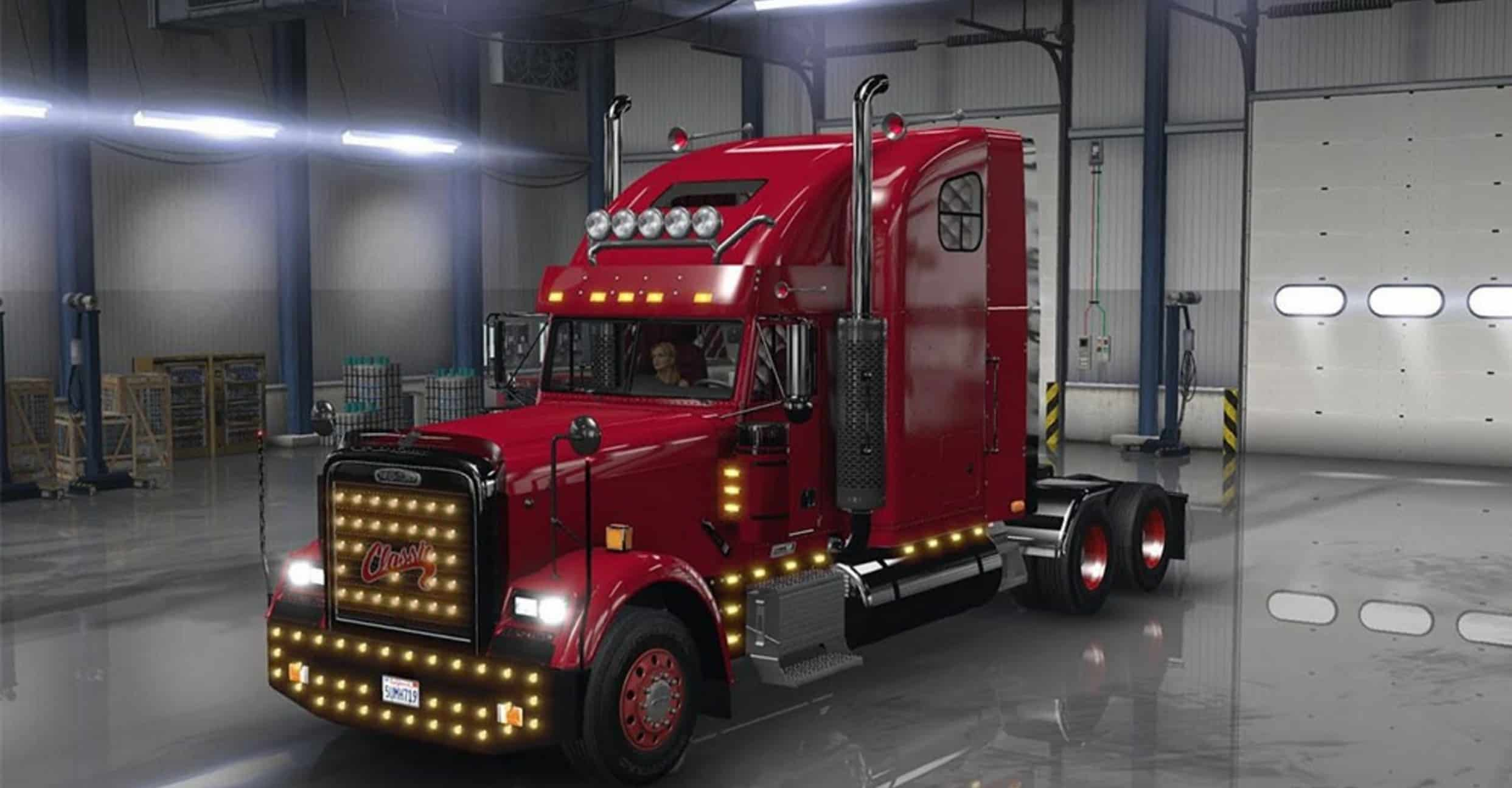 Ats 1 3 0 X Freightliner Classic Xl V2 2 With Adv Cpl
