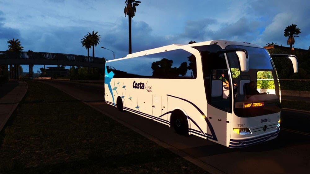 Bus Pack For Ats American Truck Simulator Mod Ats Mod