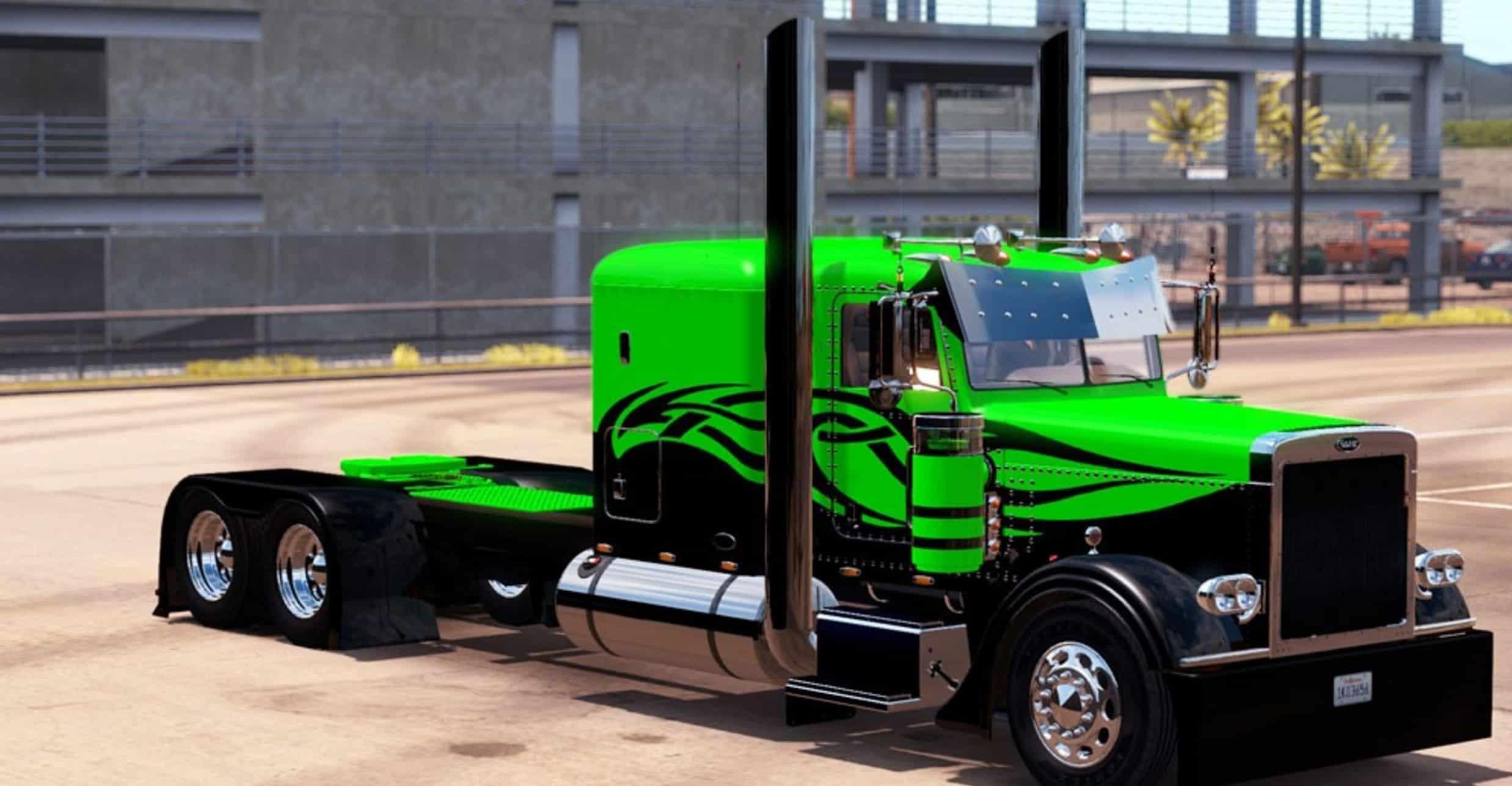 Custom Peterbilt Skin Mod American Truck Simulator Mod