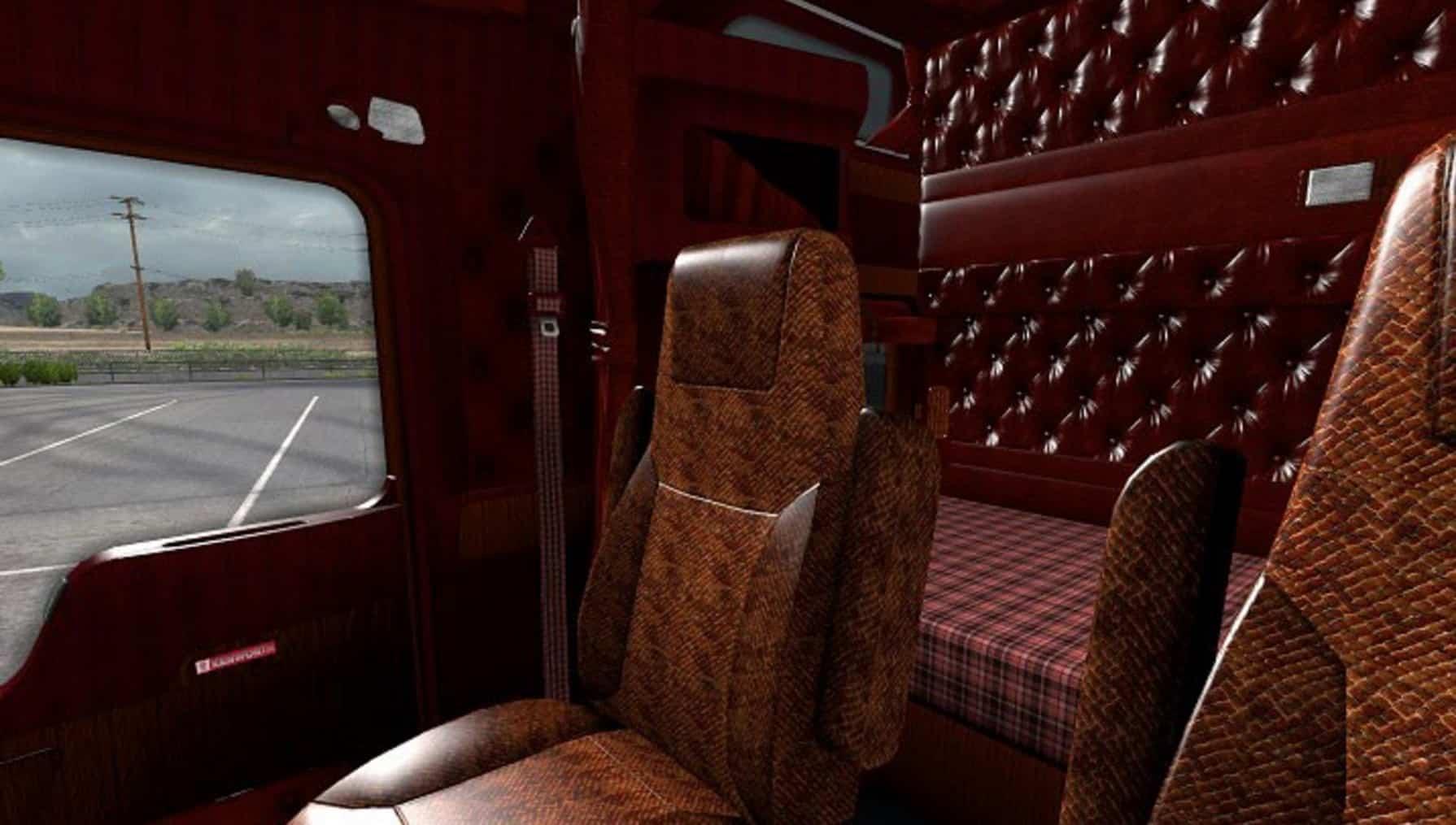Kenworth W900 Interior Mod - American Truck Simulator mod | ATS mod