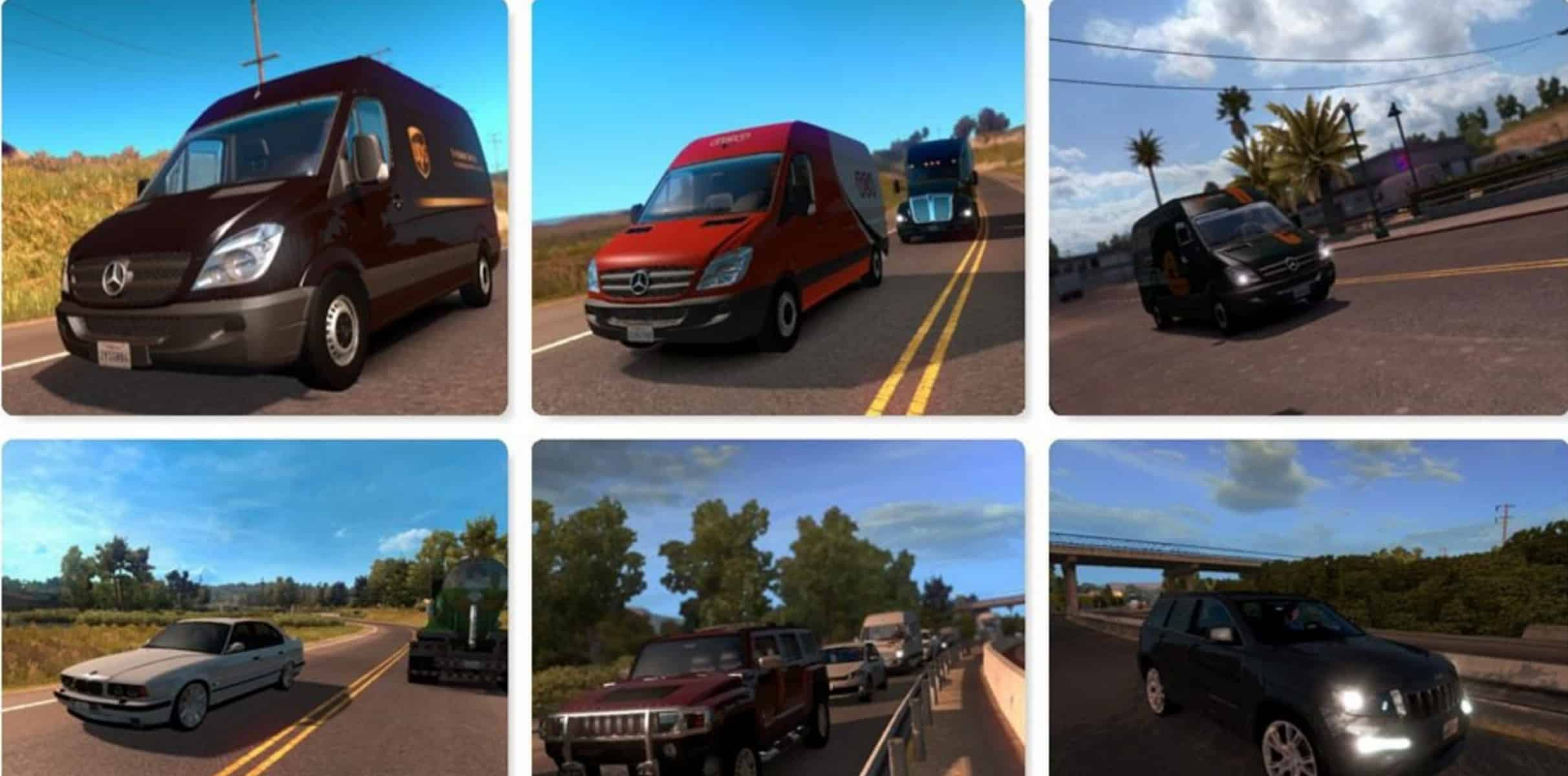 AI Traffic Mod Pack v 1 4 for ATS (1) - American Truck