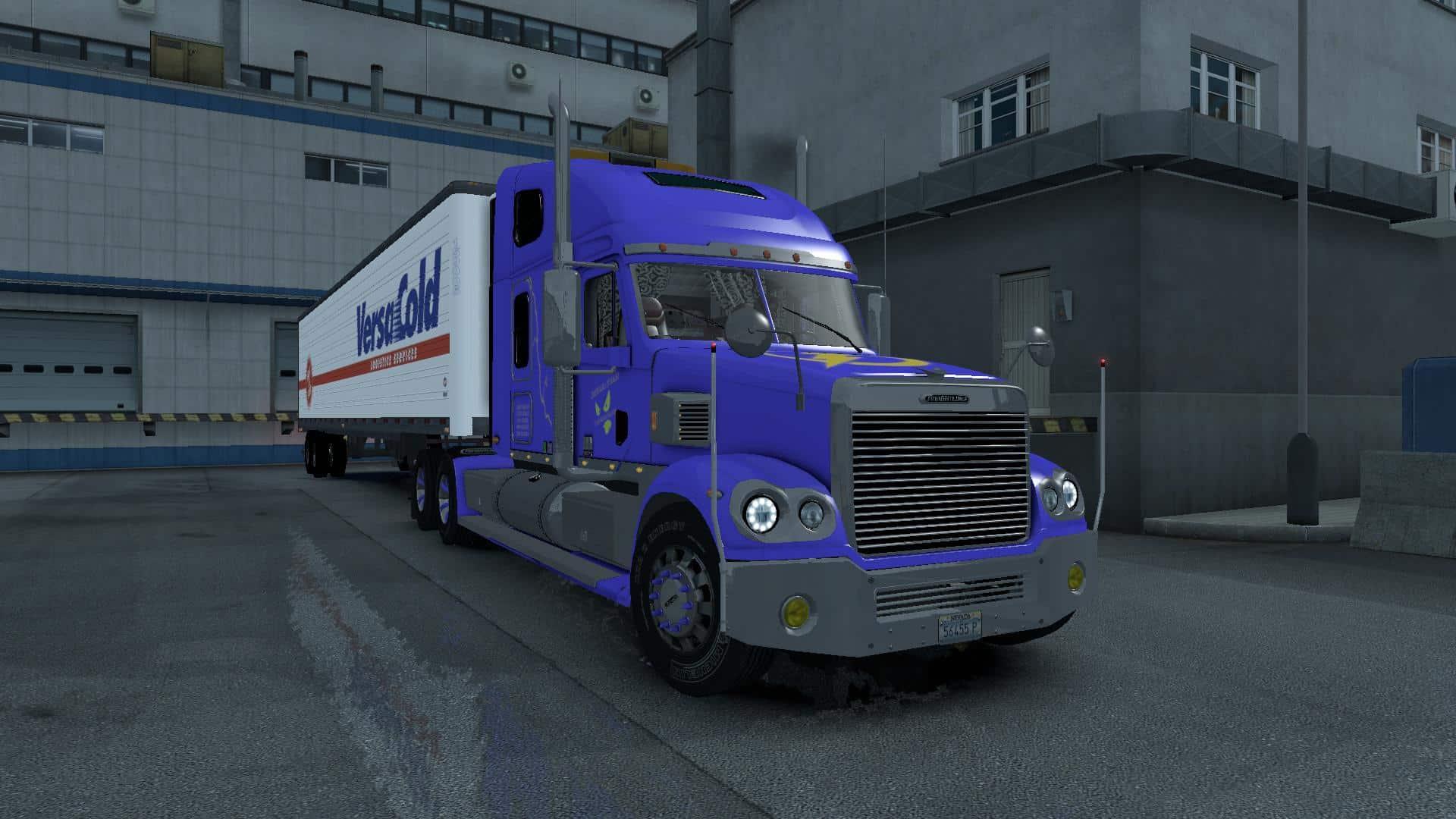 Freightliner coronado original for ats software mod for Ats software