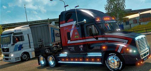 Freightliner Cascadia Cargo Transporters Skin Mod (3)