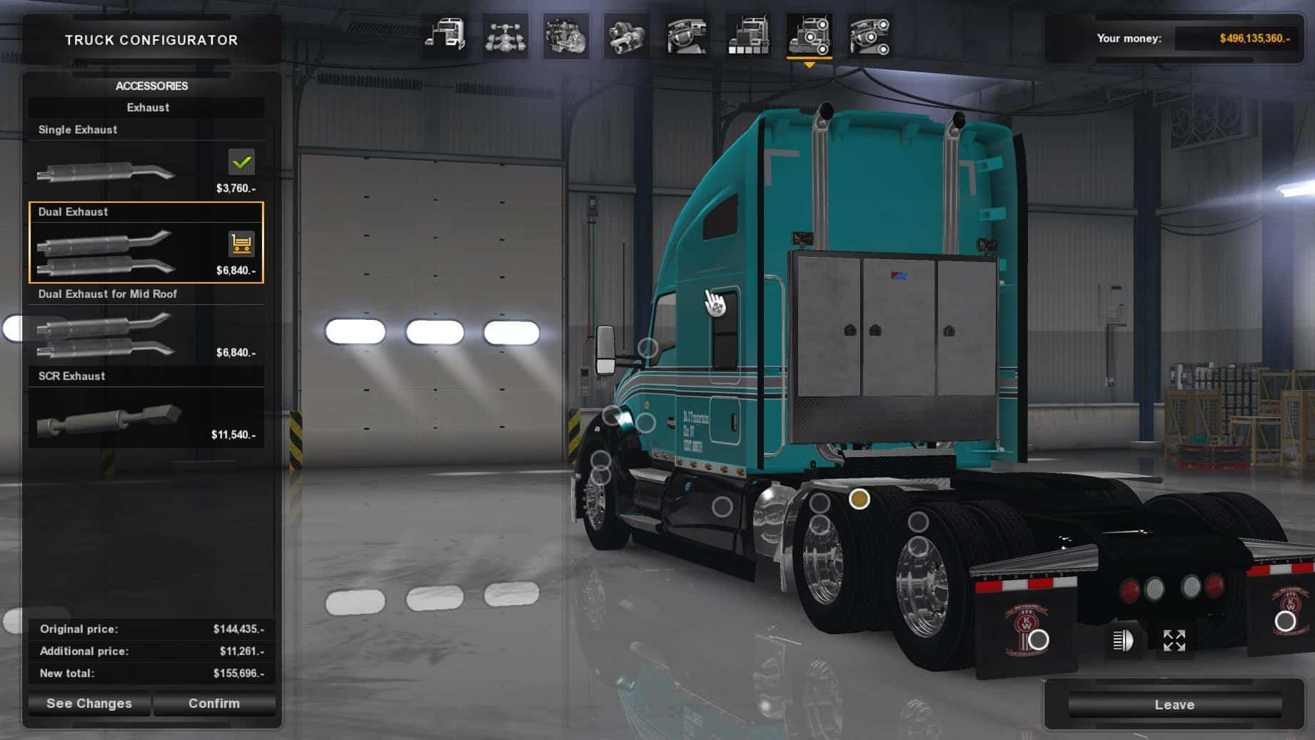 KENWORTH T680 EDIT TRUCK - American Truck Simulator mod | ATS mod