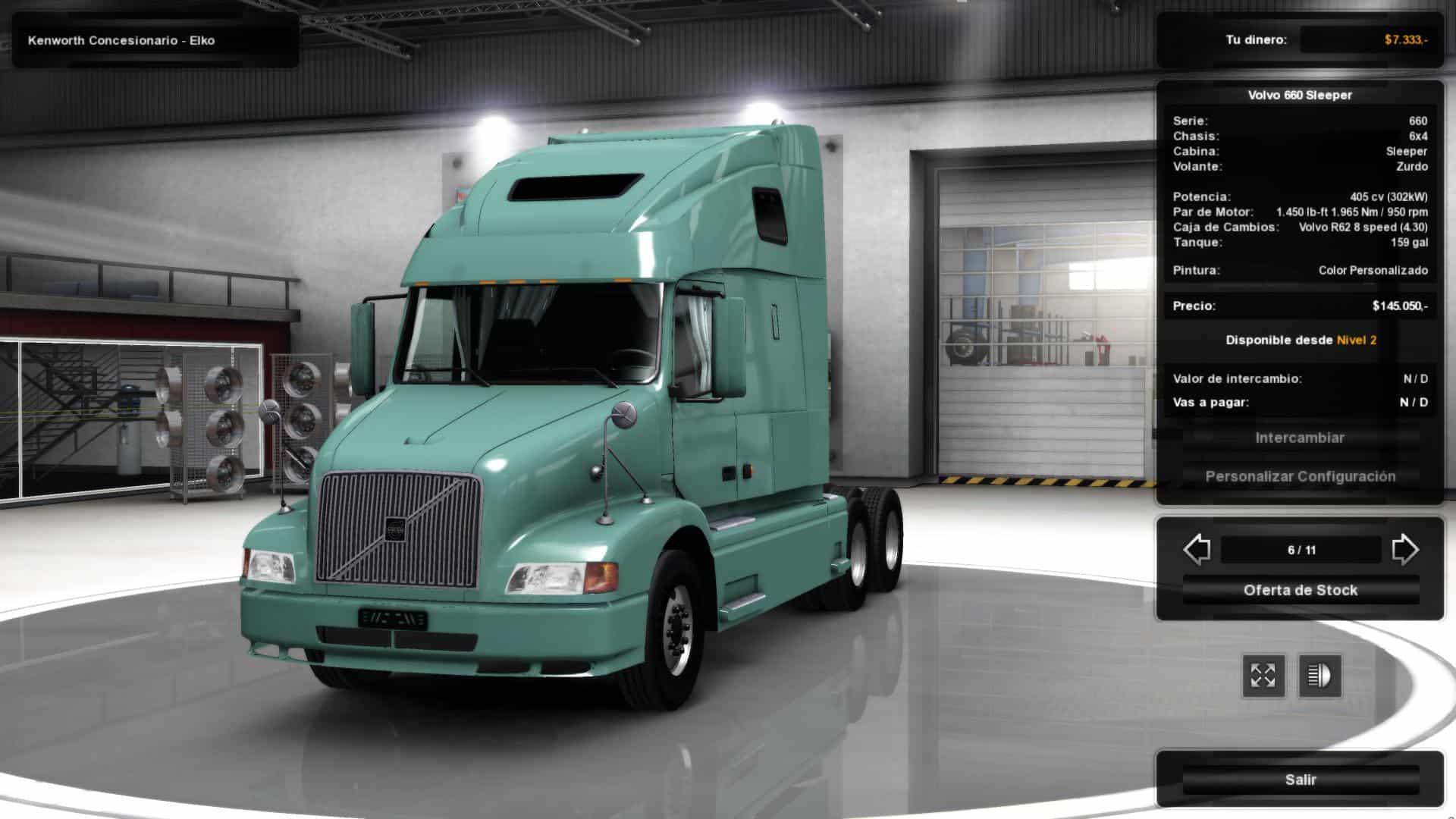VOLVO VNL 660 FOR ATS V1.3 BY H.TRUCKER MOD - American Truck Simulator mod   ATS mod