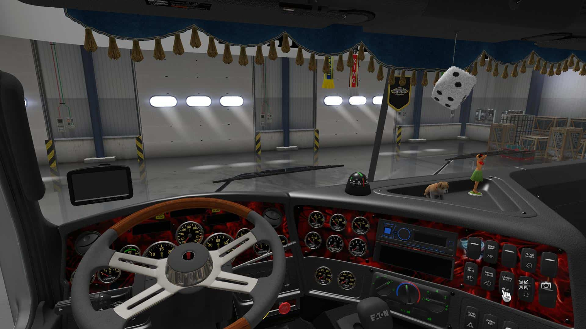 kenworth ats truck cabin american cabins mod for accessories