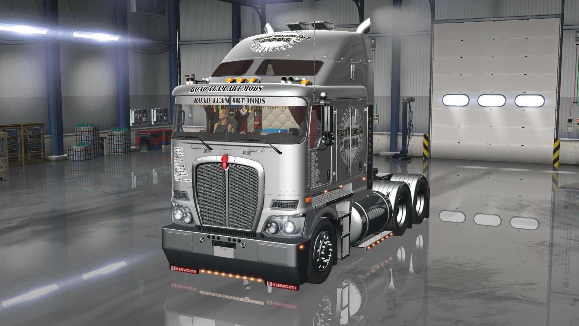 Volvo Truck Parts >> DLC CABIN ACCESSORIES V2.0 for ATS - American Truck Simulator mod | ATS mod