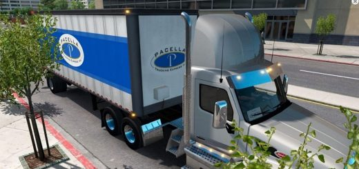 Pacella Trucking Express box trailer Mod