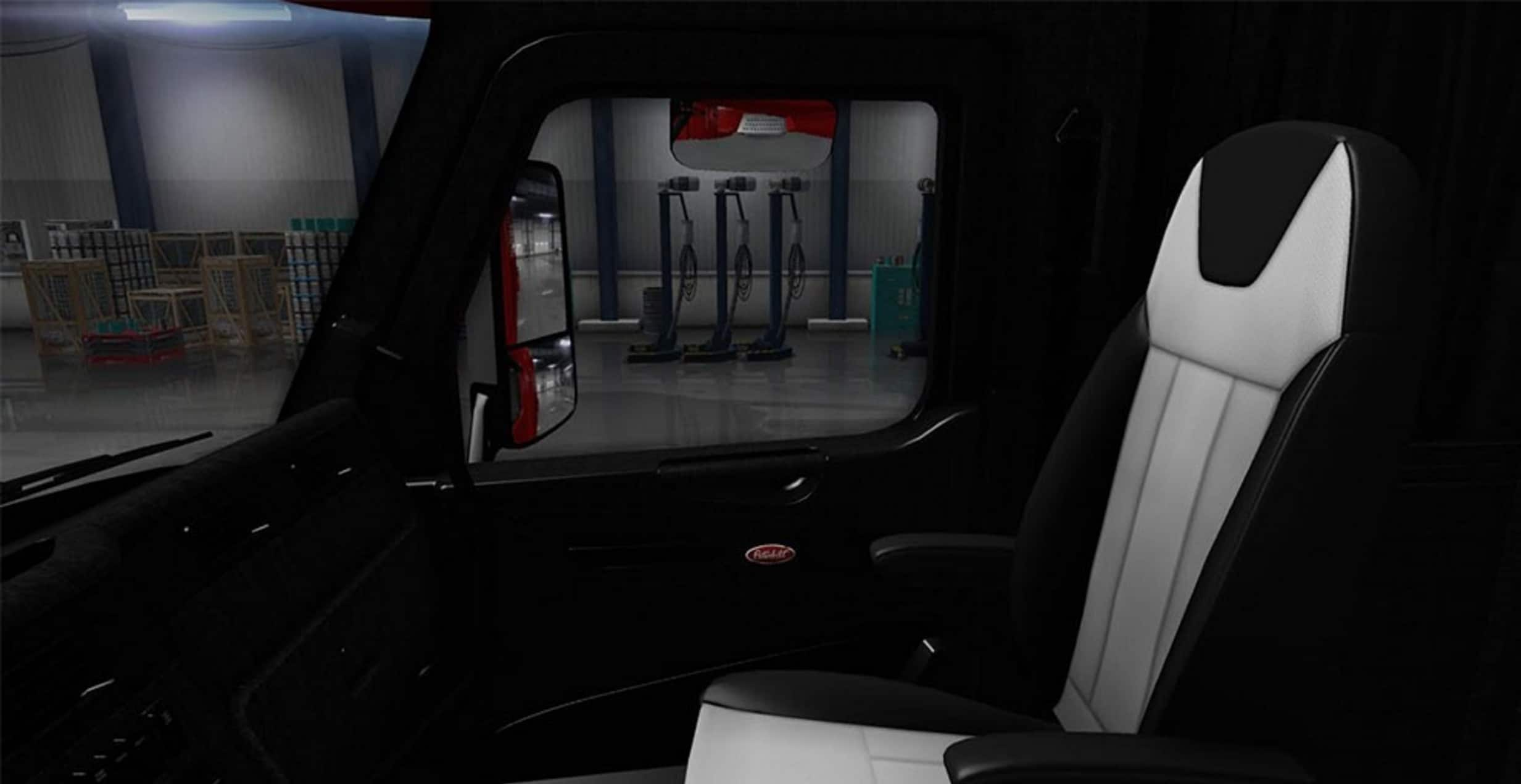 Surprising Peterbilt 579 Black Interior Mod American Truck Simulator Ocoug Best Dining Table And Chair Ideas Images Ocougorg