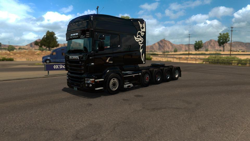 scania t mod v1 8 2 and scania r mod v1 5 2 truck