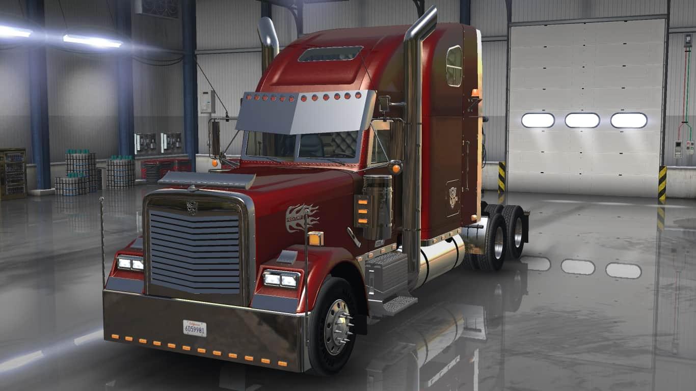 Freightliner classic xl custom american truck simulator for American custom classics