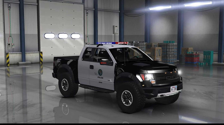 Ford F Svt Raptor V  Mod American Truck Simulator Mods
