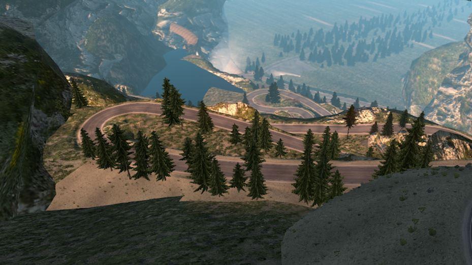 INTERSTATE V FIXED MAP American Truck Simulator Mod ATS Mod - Us interstate 10 map