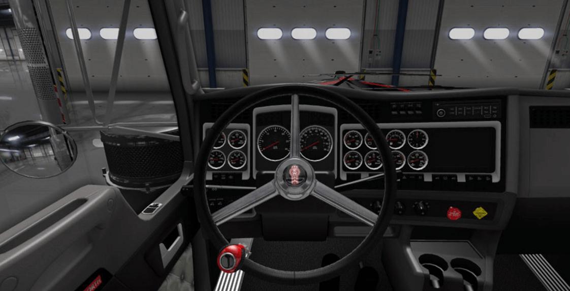 Kenworth Logo Steering Wheel mod - American Truck Simulator