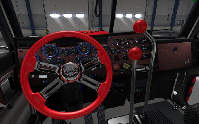 THE SHIFT LEVER TO THE PETERBILT 389 MODIFIED V2 0 8 ATS MOD