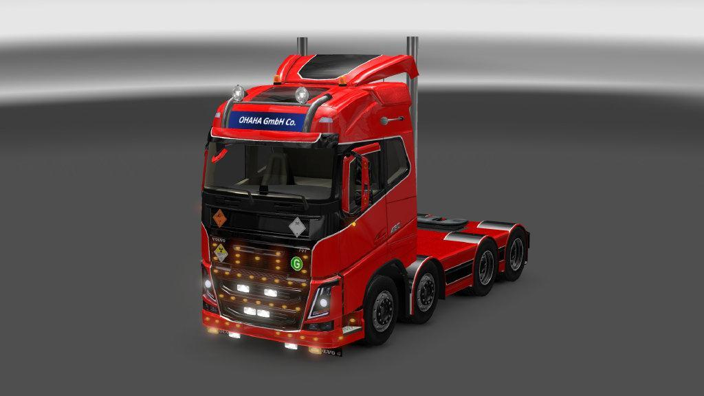 VOLVO FH 2013 [OHAHA] PORT V2 2 MOD - American Truck Simulator mod