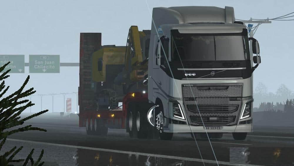 VOLVO FH V10 Truck  American Truck Simulator mod  ATS mod