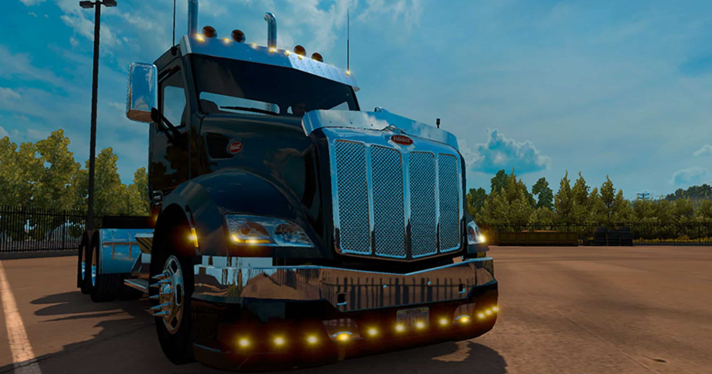 Kenworth and Peterbilt mod bumper Multiplayer Mod - American