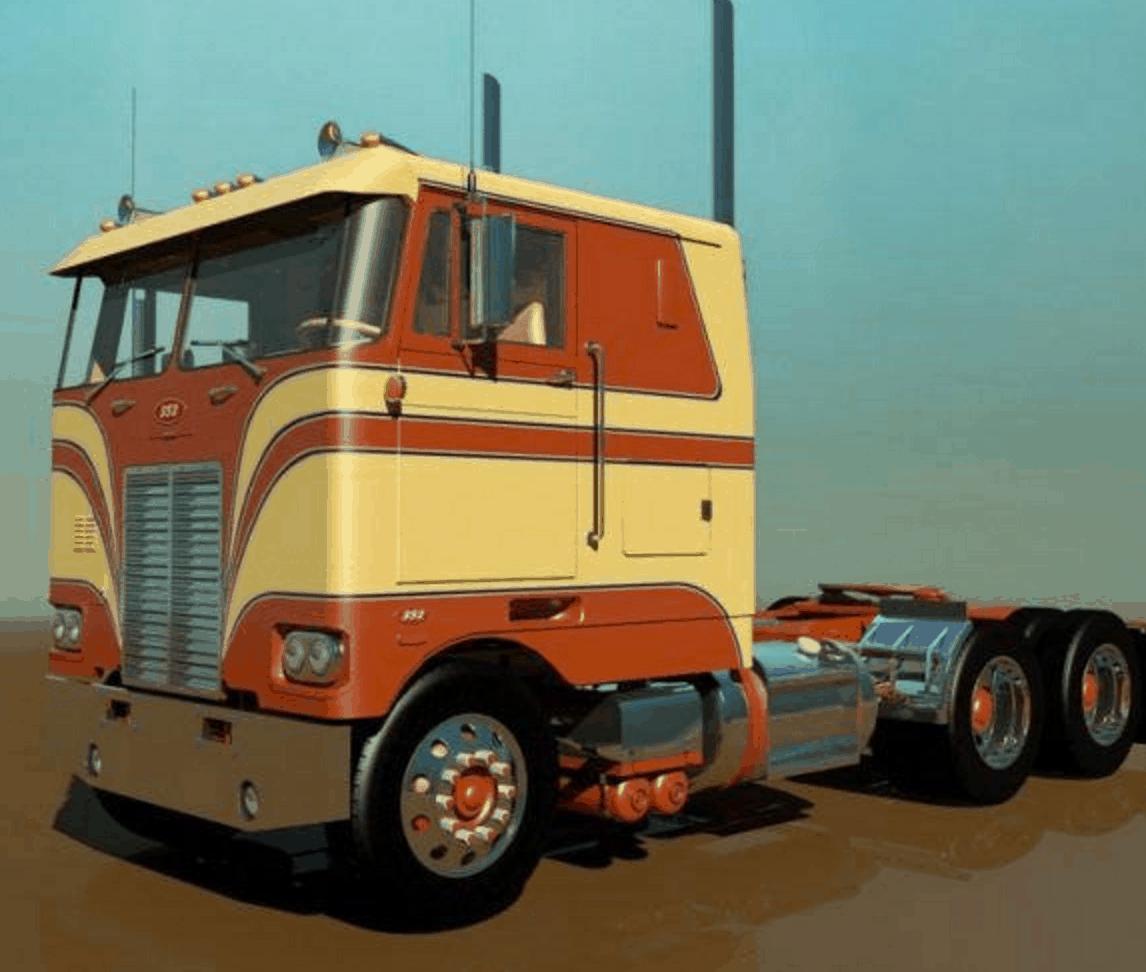 Petebilt 352 mod - American Truck Simulator mod | ATS mod