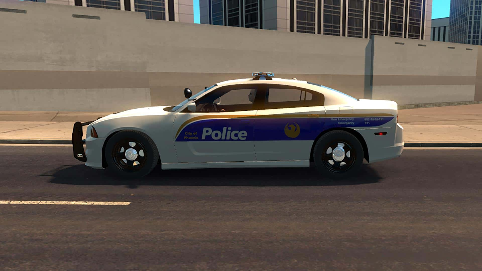 usa police traffic 1 4 x mod american truck simulator mod ats mod. Black Bedroom Furniture Sets. Home Design Ideas