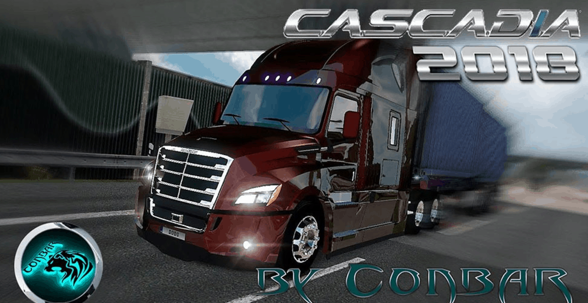 freightliner cascadia 2018 v2 0 truck ats american truck. Black Bedroom Furniture Sets. Home Design Ideas