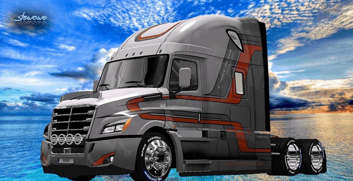 Freightliner Cascadia 2018 Evolution II Skin ATS - American Truck