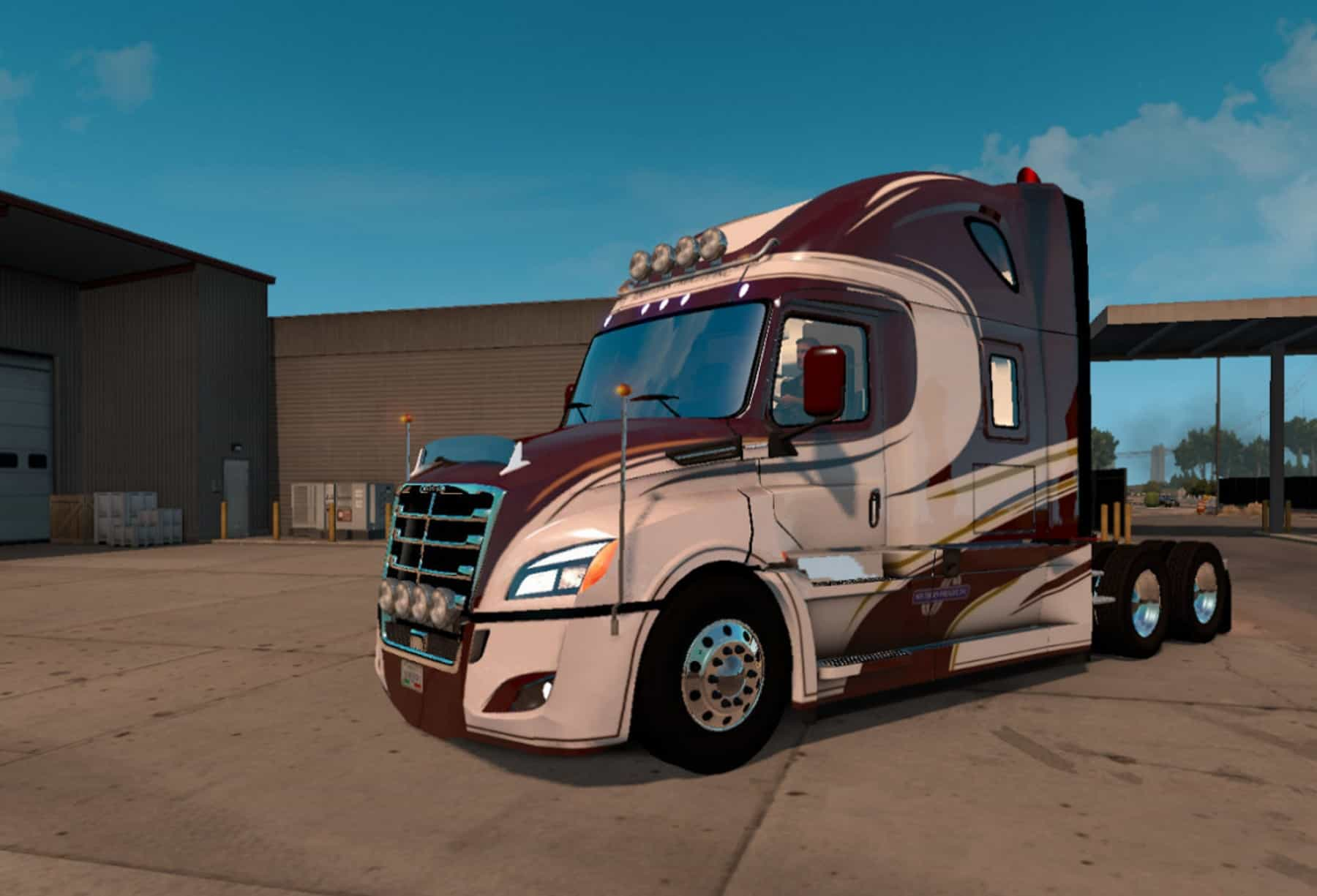freightliner cascadia 2018 skin mod american truck. Black Bedroom Furniture Sets. Home Design Ideas