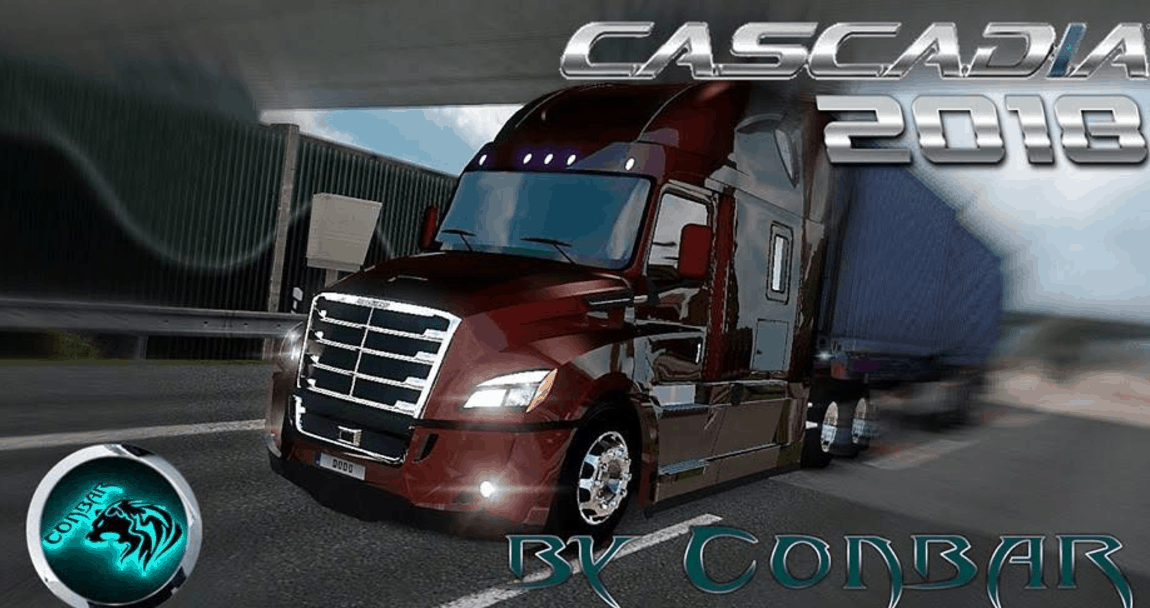 freightliner cascadia 2018 v 3 7 ats mod american truck. Black Bedroom Furniture Sets. Home Design Ideas