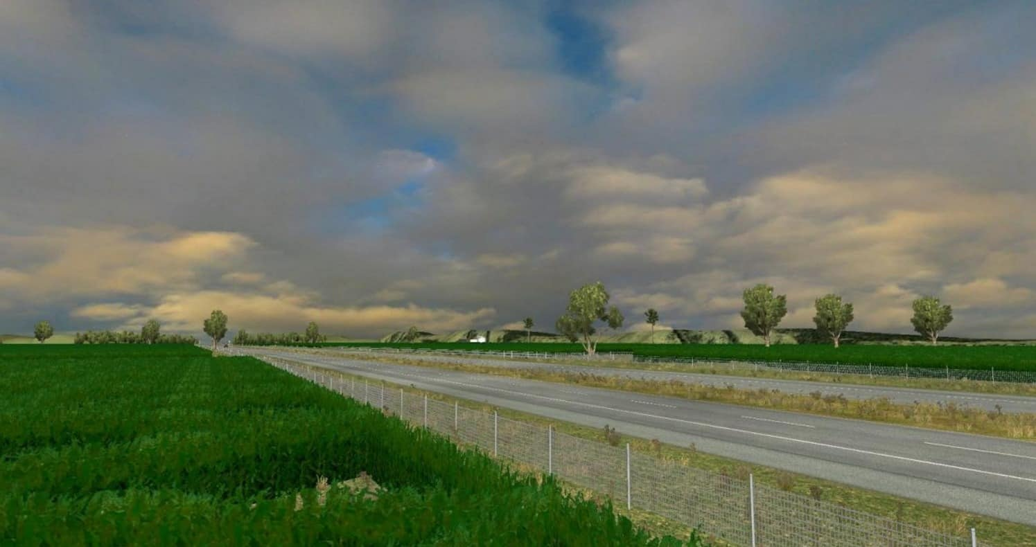 ATS Map Objects Mods American Truck Simulator Map Objects Mod - Us map ststes route 80