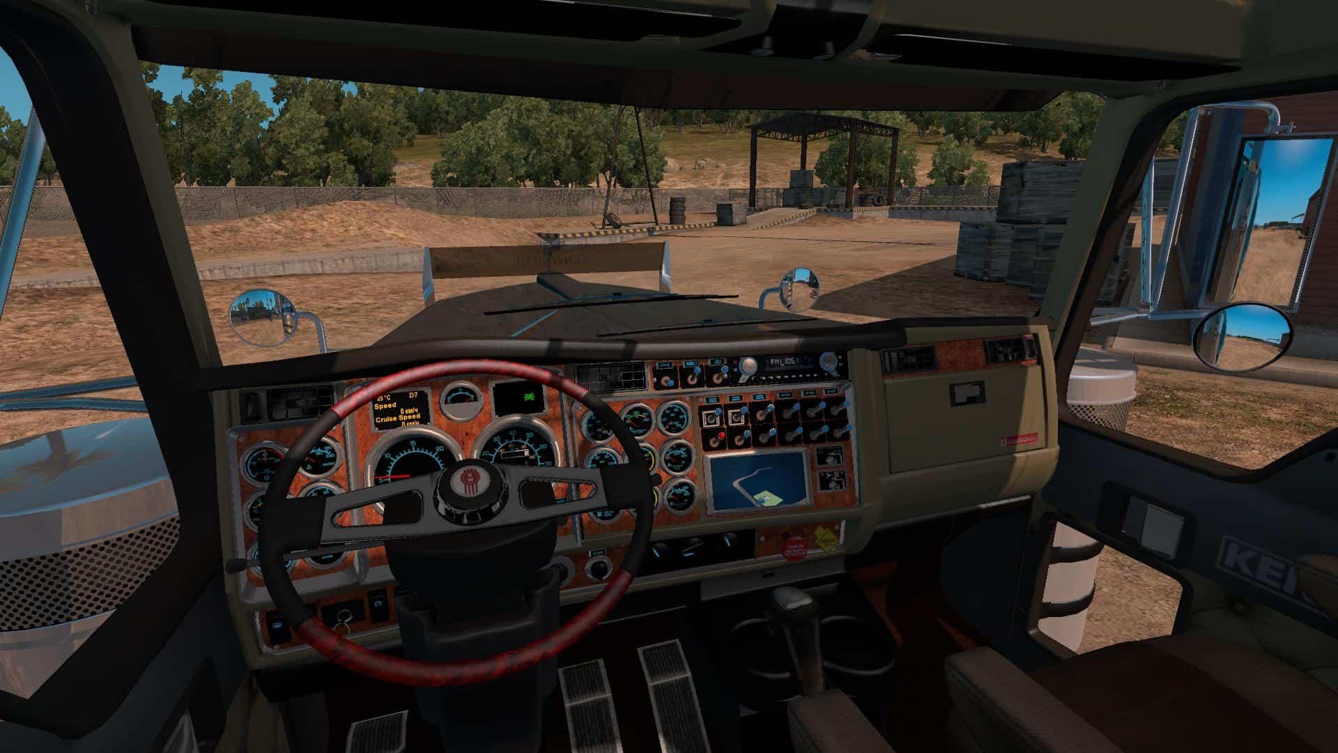 Kenworth w900b long truck v 1 for ats 1 5 american truck simulator mods