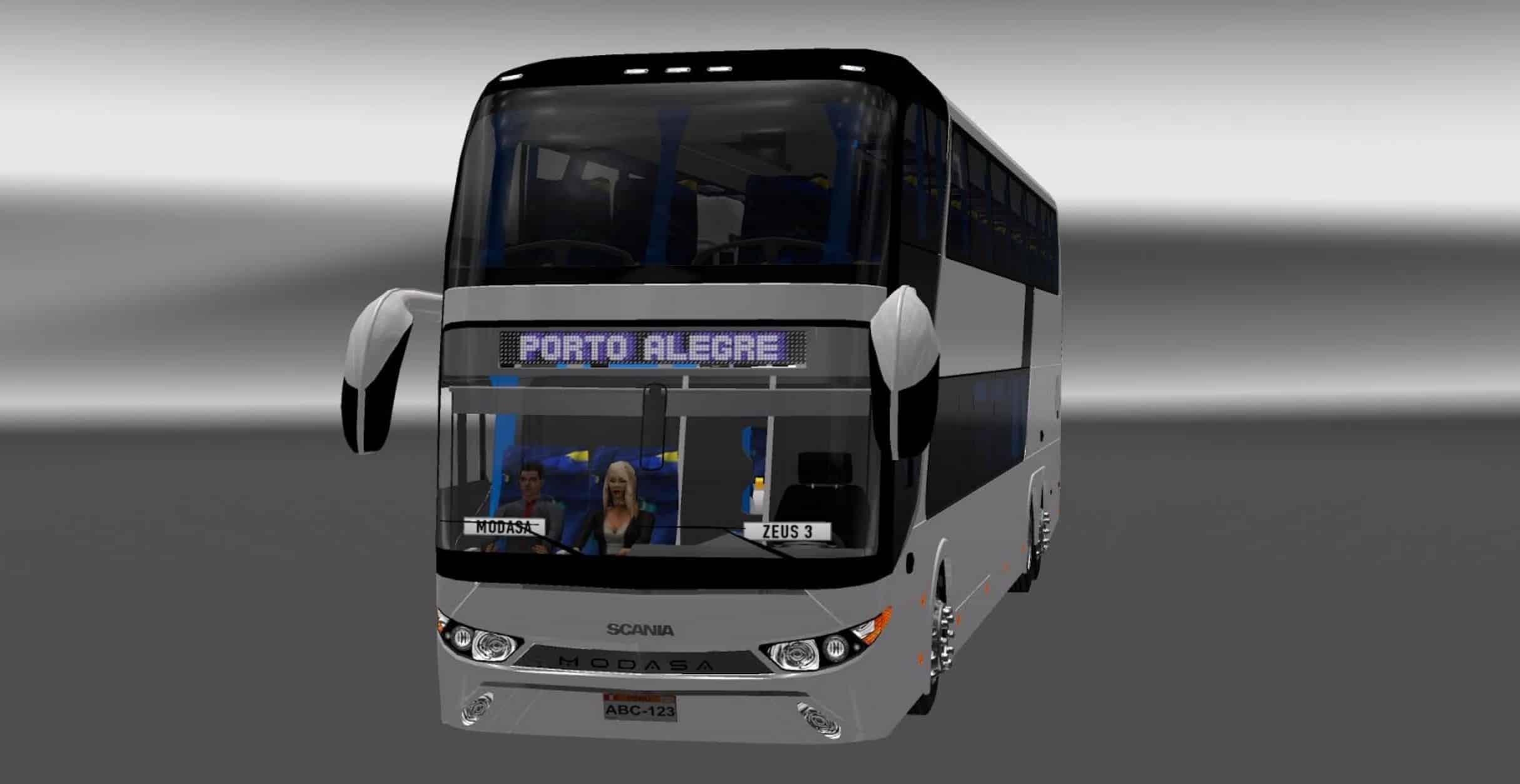 Modasa Zeus 3 – Scania 6×2 Bus - American Truck Simulator