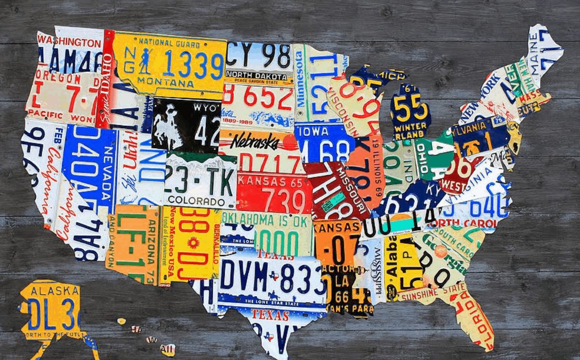 More License Plates Ats American Truck Simulator Mod