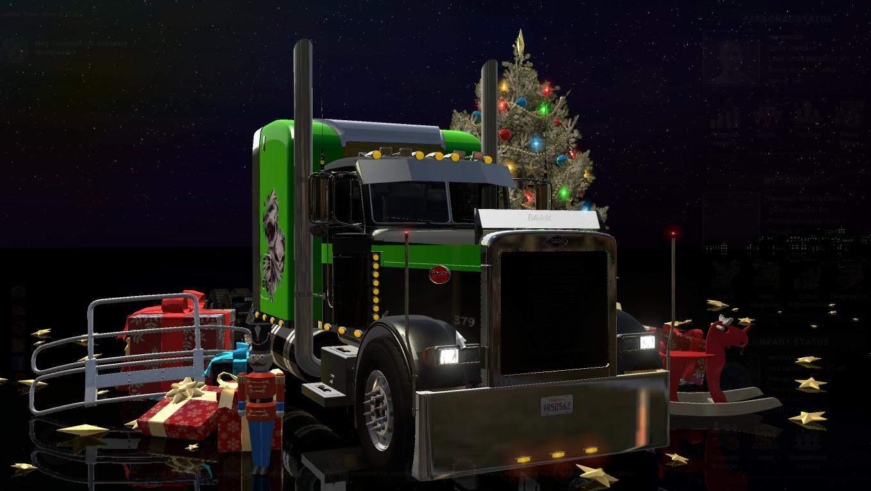 Seat Skins For Trucks >> PETERBILT 379 V2.5 TRUCK - American Truck Simulator mod | ATS mod