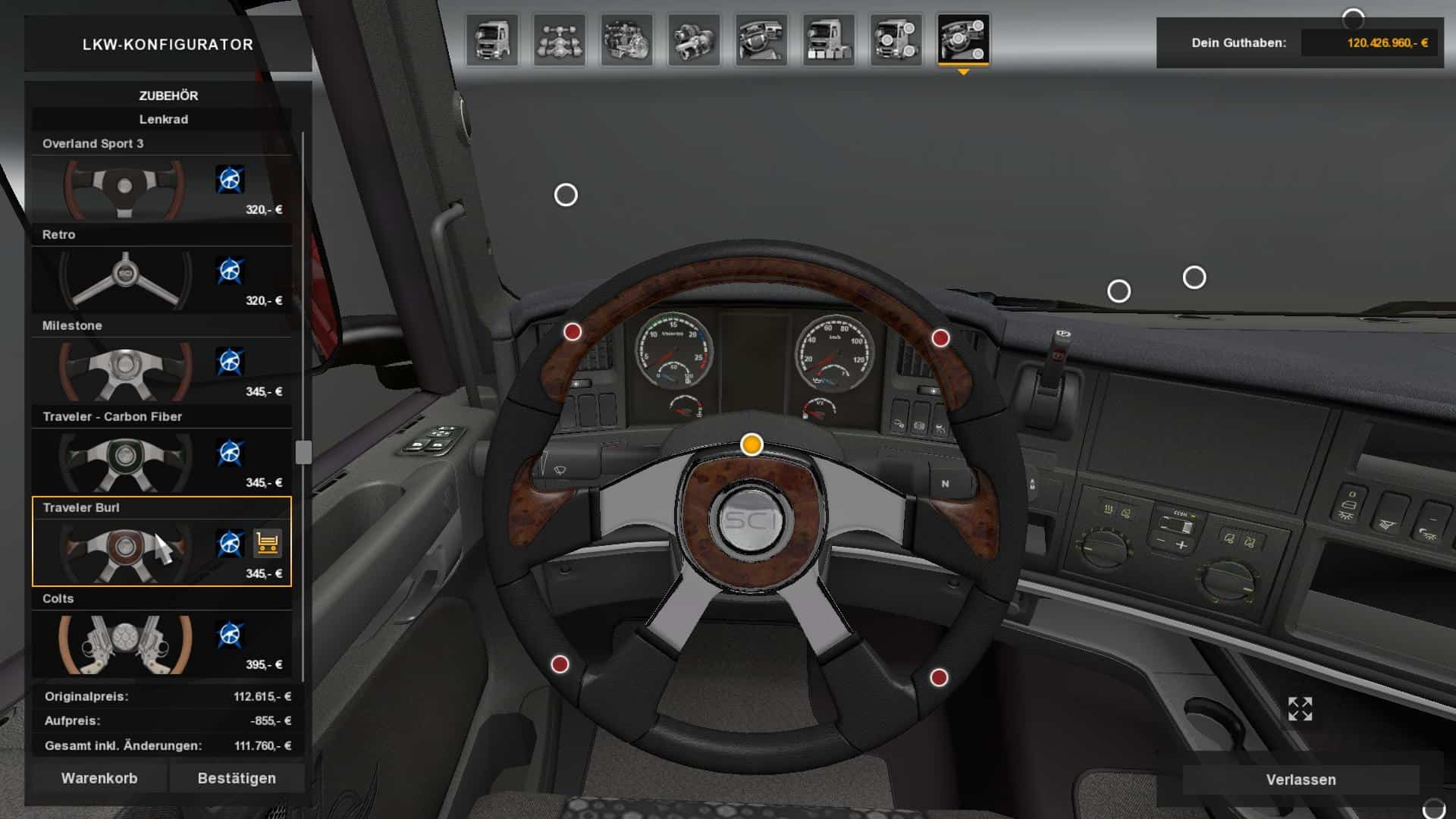 STEERING CREATIONS PACK FROM ATS V1 0 MOD - American Truck Simulator