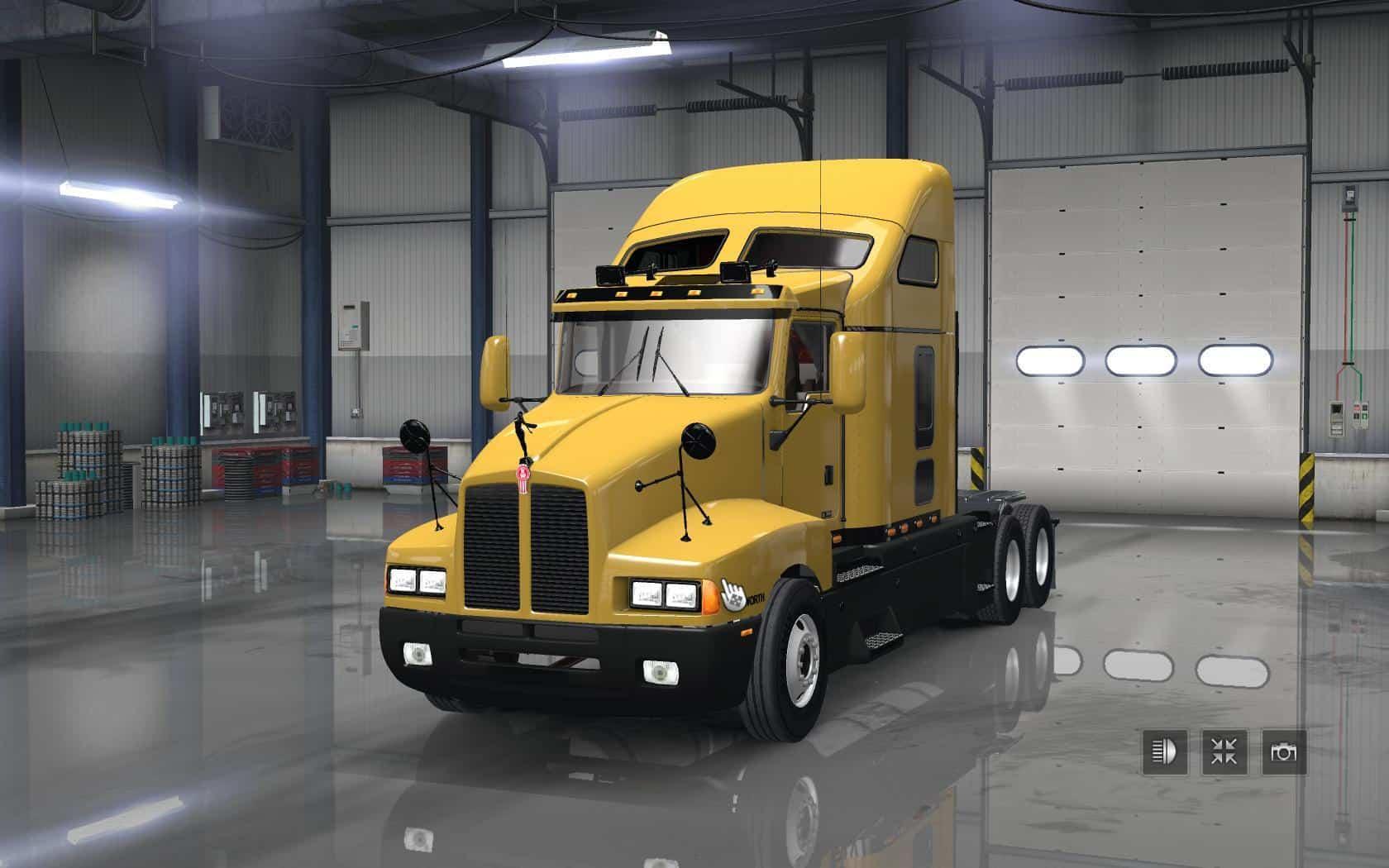 Volvo Truck Dealer >> TRUCKS PACK MOD V1.5 ATS - American Truck Simulator mod | ATS mod