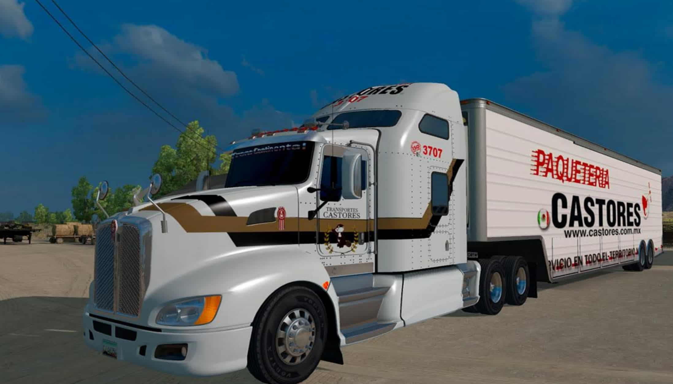 Tractocamion Kenworth T660 Truck American Truck