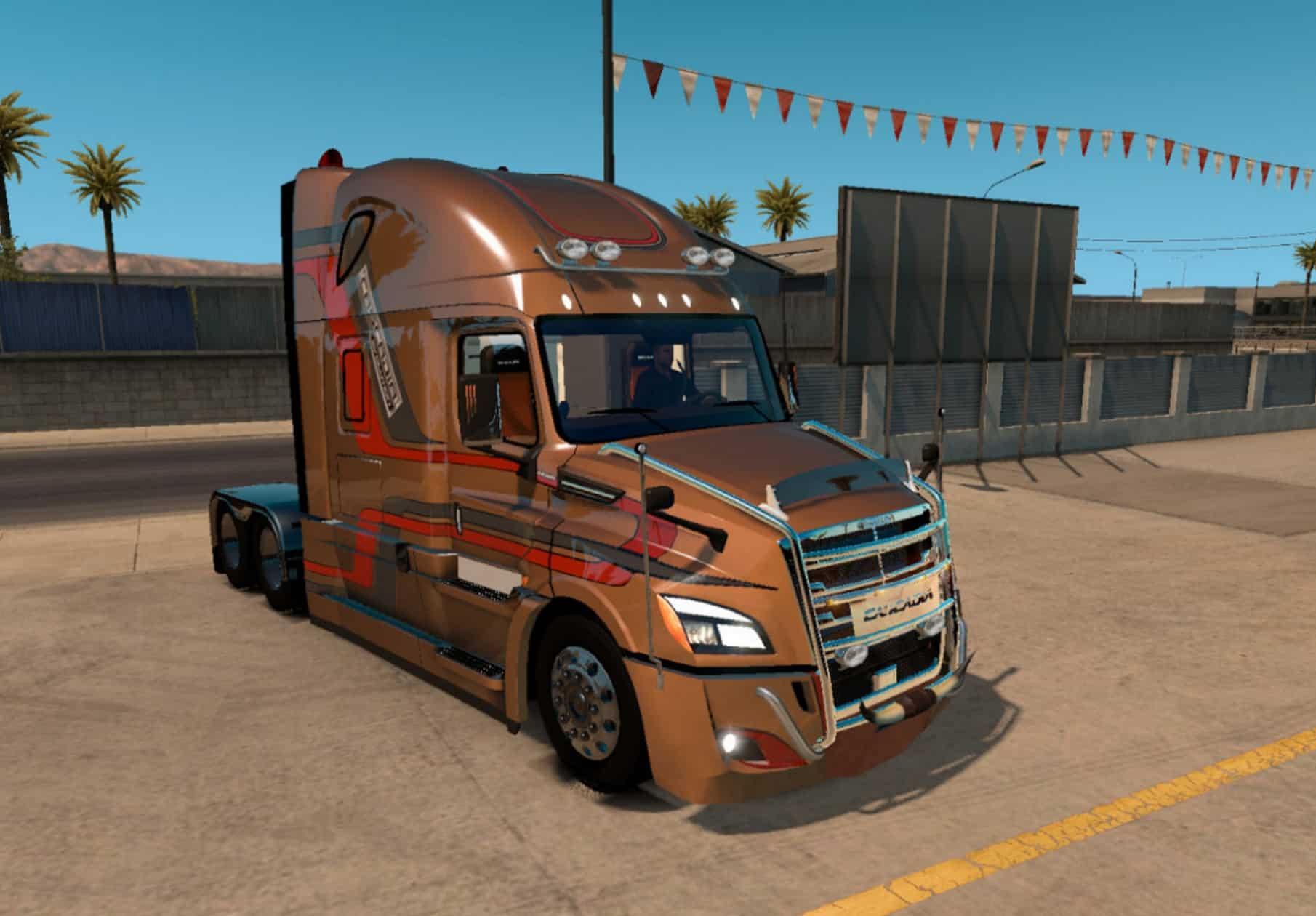 American Truck Simulator Freightliner Cascadia 2018 V 3 9 3 1 5