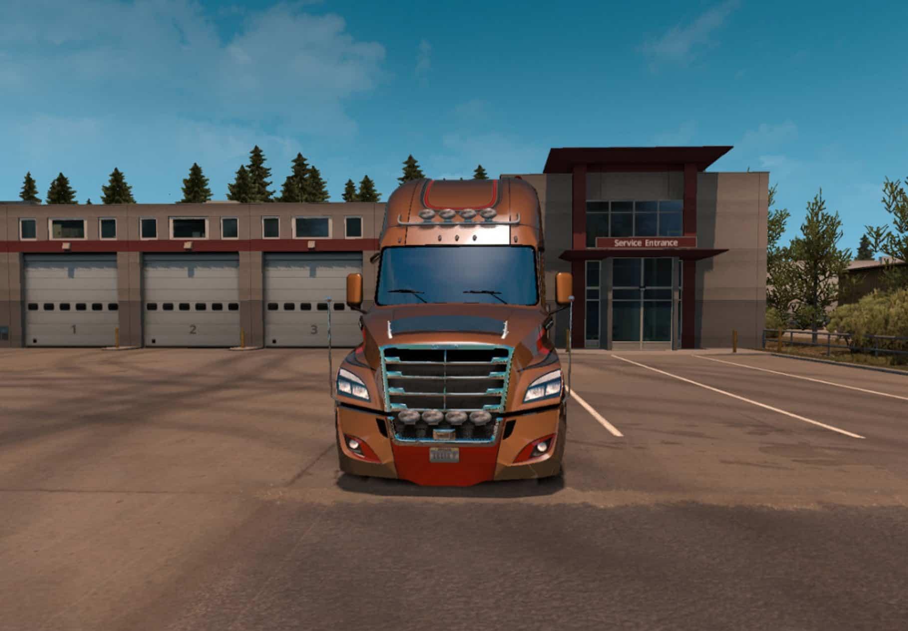 Freightliner Cascadia Evolution 2018 ATS & ETS2 Mod