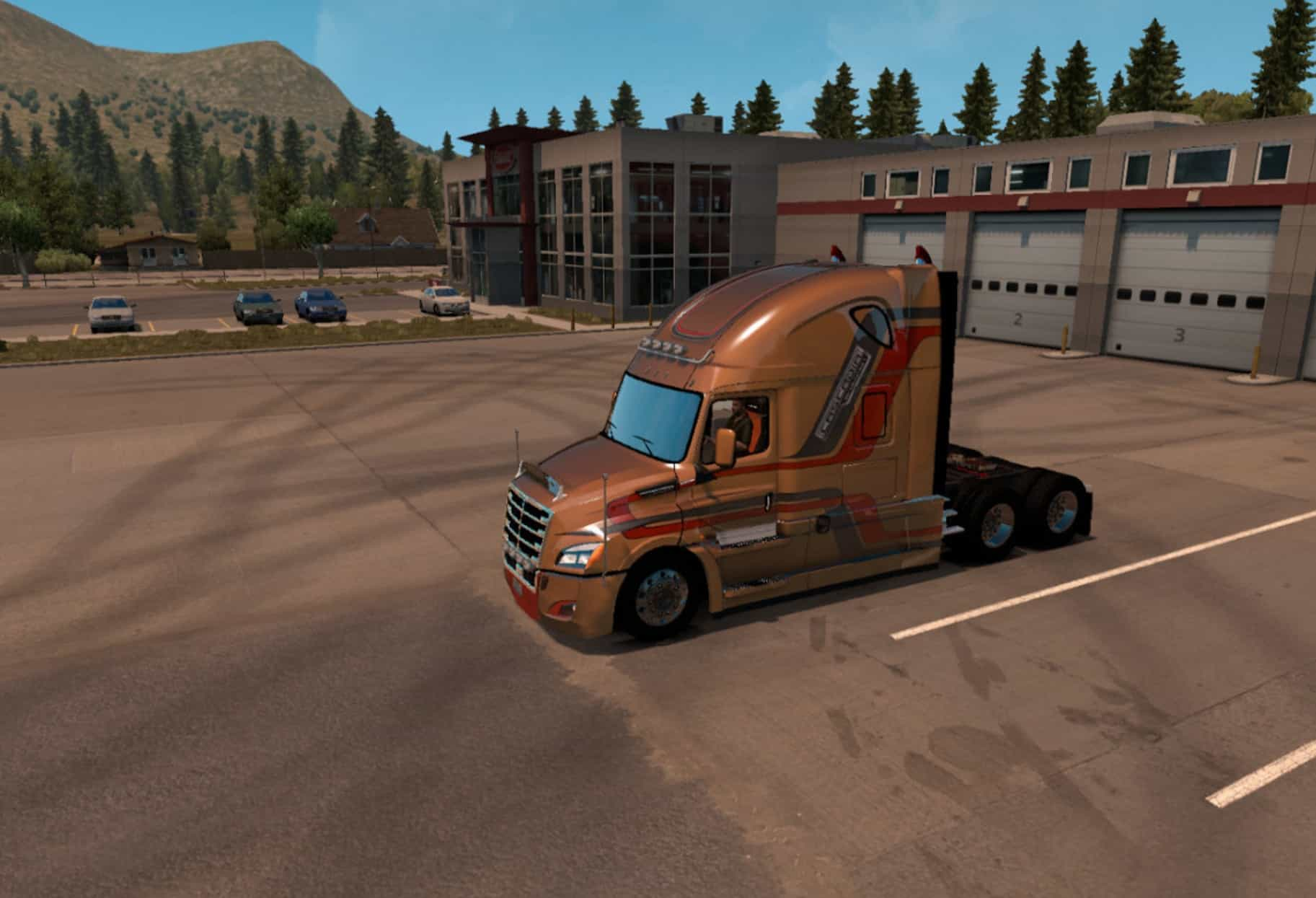freightliner cascadia evolution 2018 ats ets2 mod. Black Bedroom Furniture Sets. Home Design Ideas