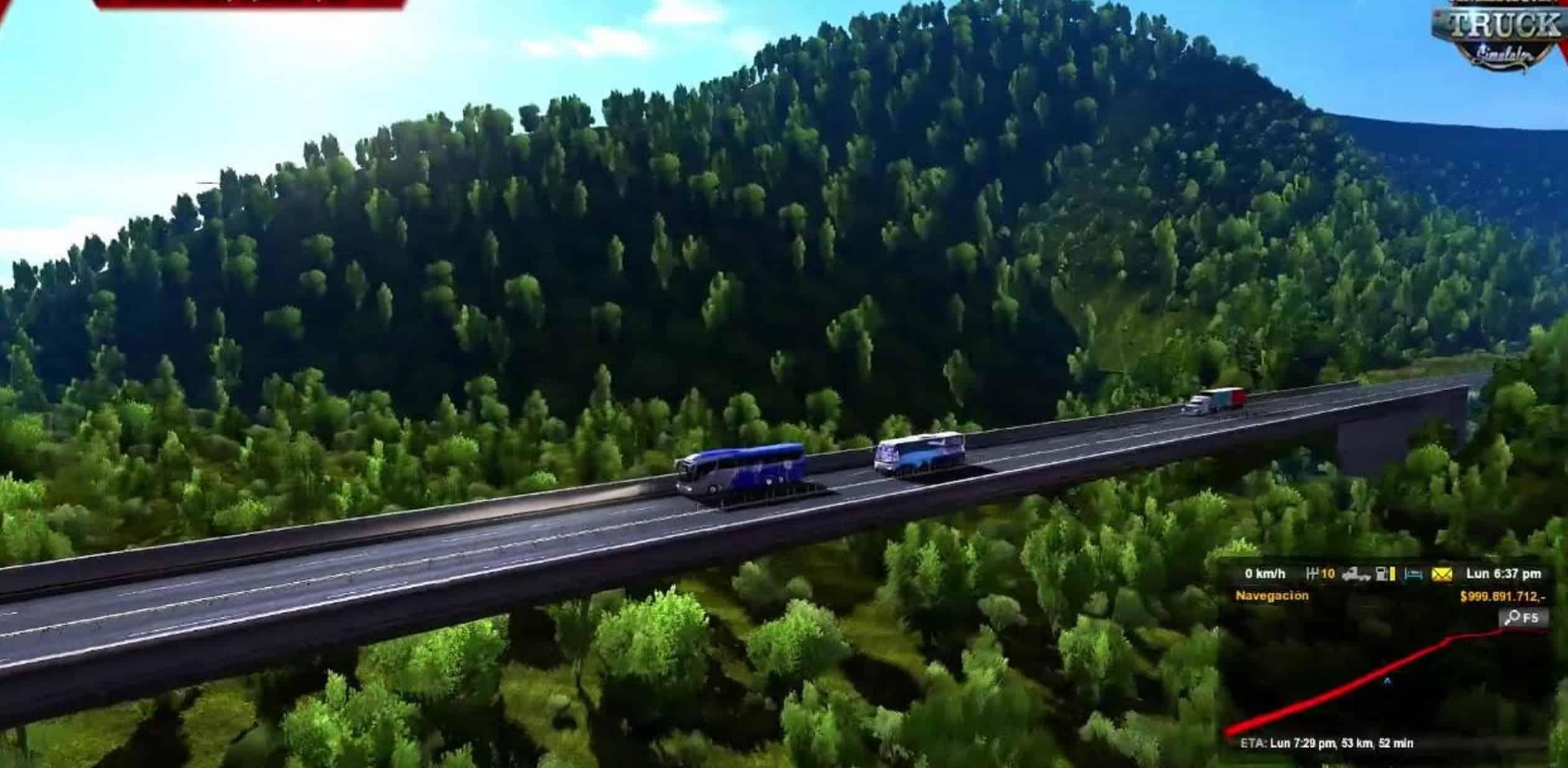 map mexico suroeste mod american truck simulator mod ats mod