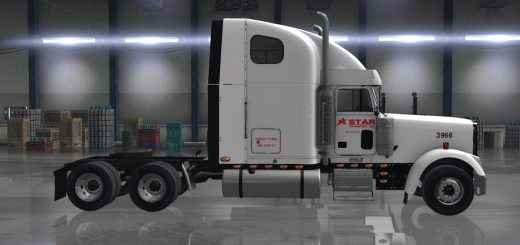 STAR TRANSPORT, INC. COMPANY SKIN FOR ODDFELLOW'S FREIGHTLINER XL V1.0 MOD