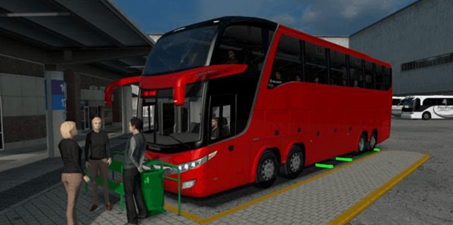 BUS STATION FOR (ATS_MAP) V 1 5 X MOD - American Truck