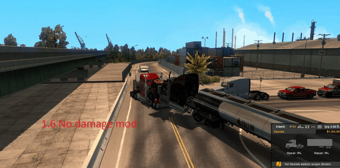 No Damage Mod [1.6.X] +150 mph Limits ATS