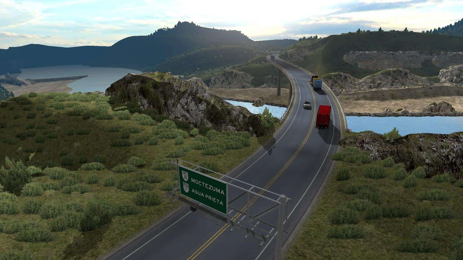 VIVA MEXICO MAP V SONORA UPDATE V ATS American Truck - Mexico map hd