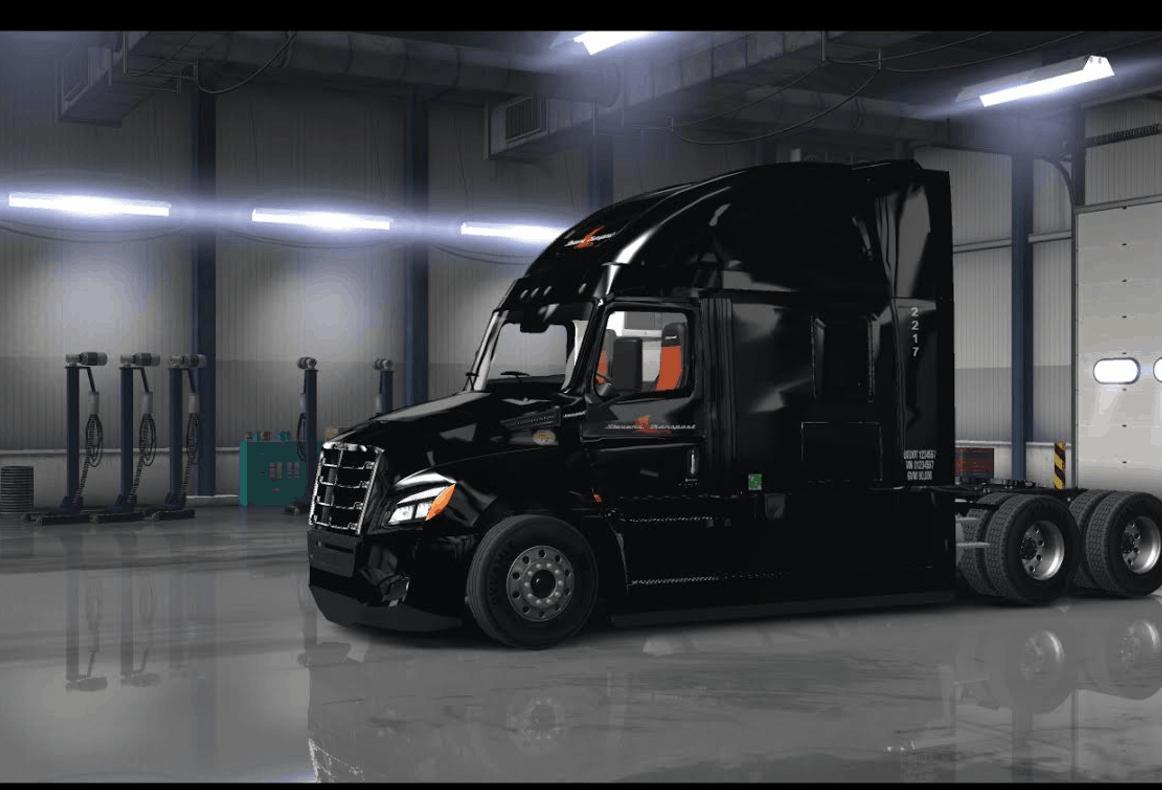2018 Cascadia Stevens Transport Skin Ats American Truck Simulator Mod Ats Mod